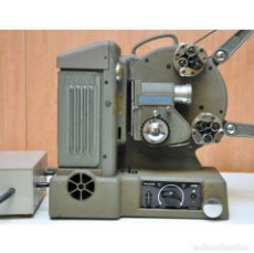 Antigüedades: PROYECTOR HEURTIER TRIFILM 16 MM, 9,5 MM Y 8 MM.. Lote 198572795
