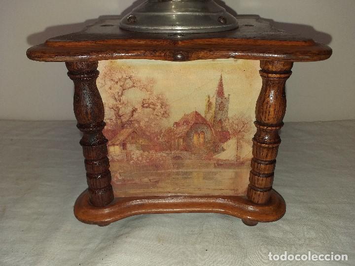 Antigüedades: Molino Molinillo de cafe Decore de la firma Alemana PeDe Peter Dienes. ca. 1914 - Foto 3 - 198577955