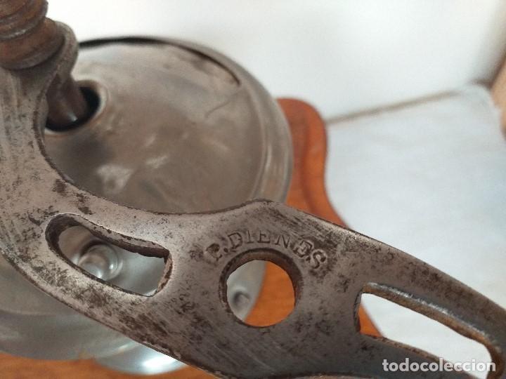 Antigüedades: Molino Molinillo de cafe Decore de la firma Alemana PeDe Peter Dienes. ca. 1914 - Foto 5 - 198577955
