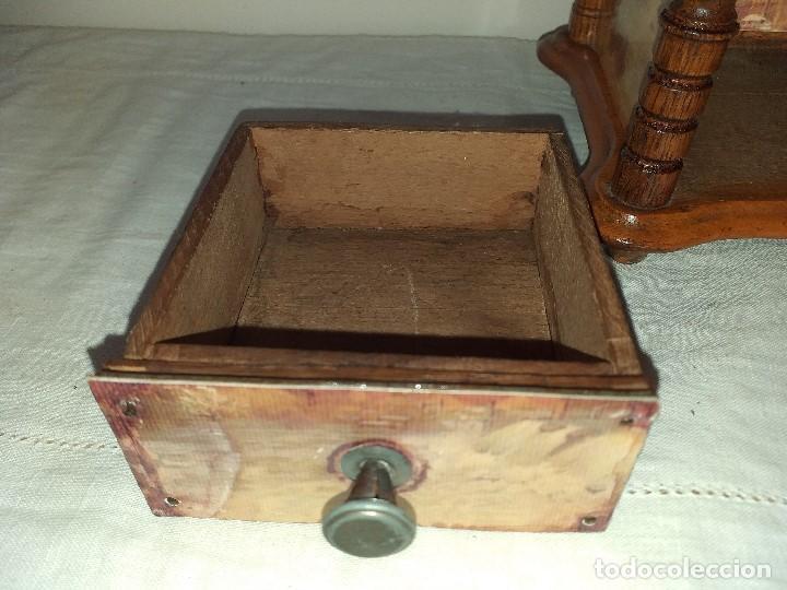 Antigüedades: Molino Molinillo de cafe Decore de la firma Alemana PeDe Peter Dienes. ca. 1914 - Foto 7 - 198577955