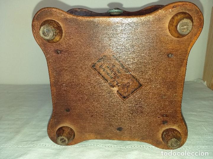 Antigüedades: Molino Molinillo de cafe Decore de la firma Alemana PeDe Peter Dienes. ca. 1914 - Foto 9 - 198577955