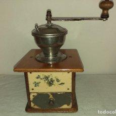 Antigüedades: MOLINO MOLINILLO DE CAFE DECORE DE LA FIRMA ALEMANA PETER DIENES, PEDE .. Lote 198578403