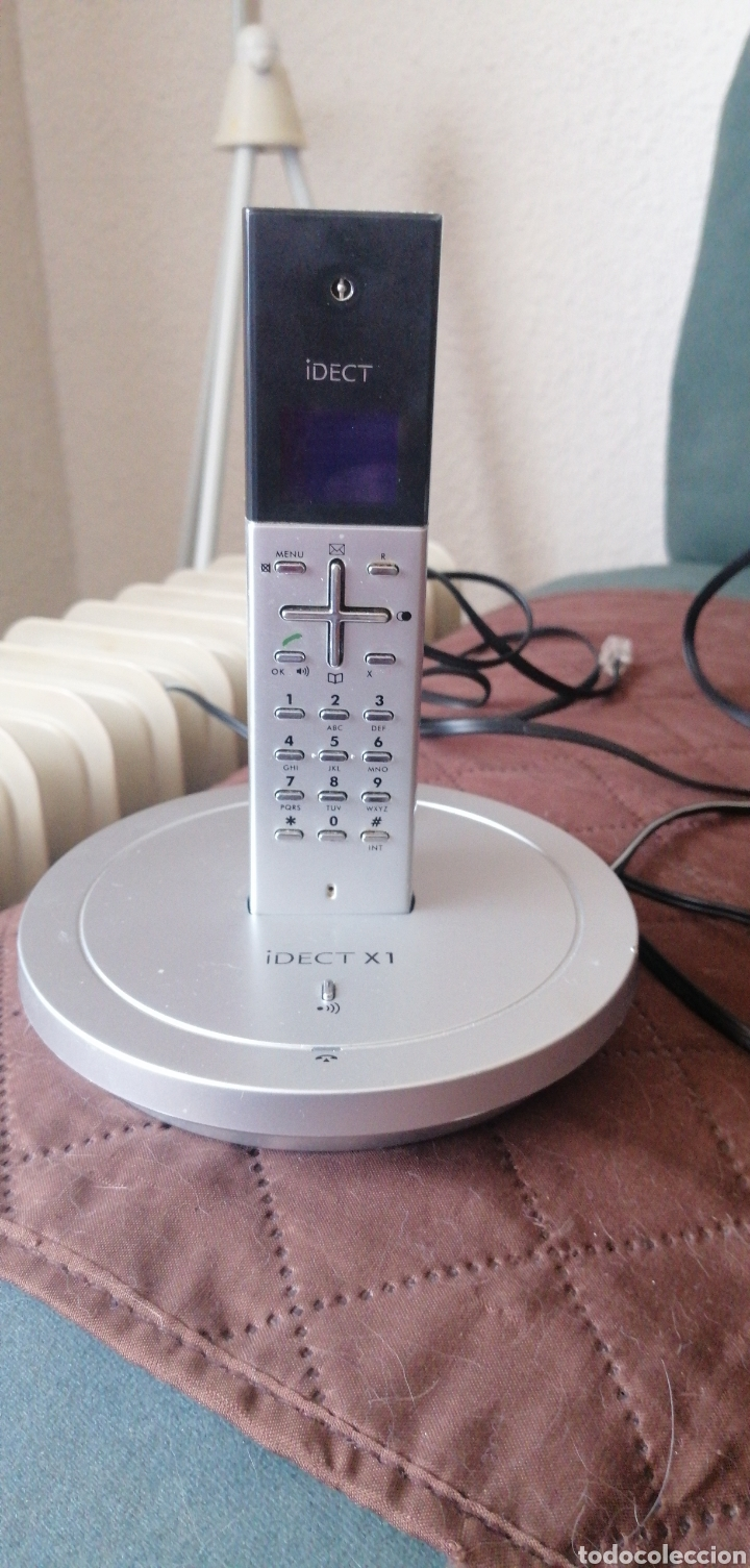 TELÉFONO INALAMBRICO MARCA IDECT X1 DIGITAL DE SOBREMESA (Antigüedades - Técnicas - Varios)