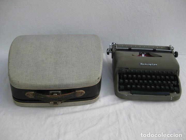 MAQUINA ESCRIBIR ANTIGUA. REMINGTON. (Antigüedades - Técnicas - Máquinas de Escribir Antiguas - Remington)