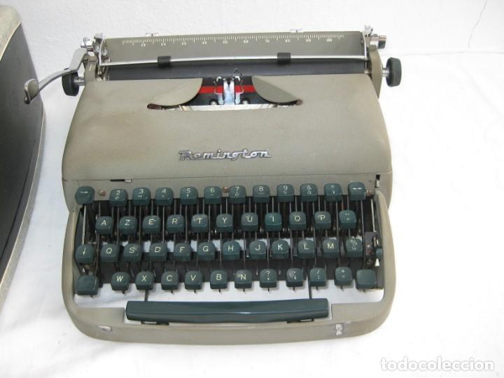 Antigüedades: Maquina escribir antigua. Remington. - Foto 2 - 198637005