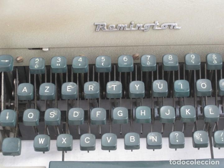 Antigüedades: Maquina escribir antigua. Remington. - Foto 4 - 198637005