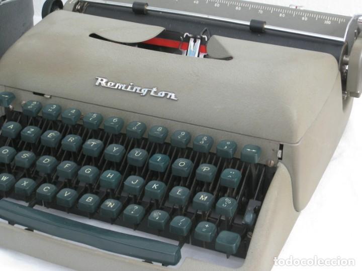 Antigüedades: Maquina escribir antigua. Remington. - Foto 6 - 198637005