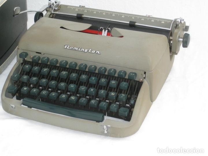 Antigüedades: Maquina escribir antigua. Remington. - Foto 7 - 198637005