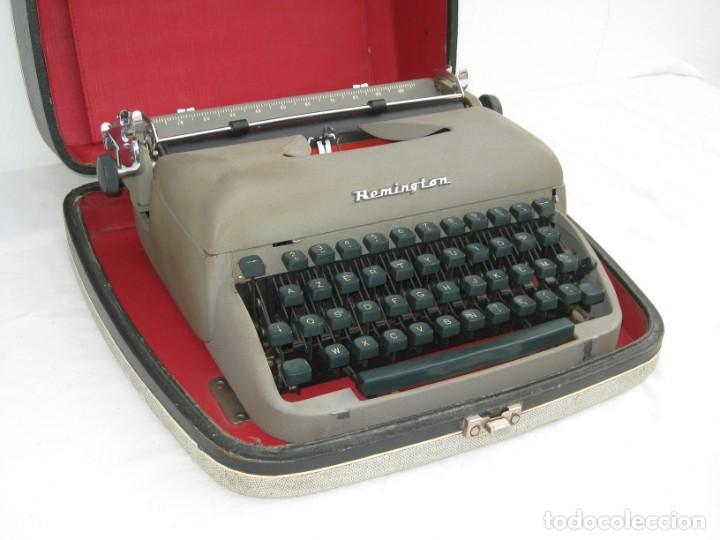 Antigüedades: Maquina escribir antigua. Remington. - Foto 8 - 198637005