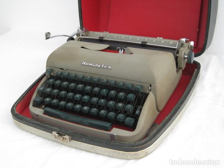 Antigüedades: Maquina escribir antigua. Remington. - Foto 9 - 198637005