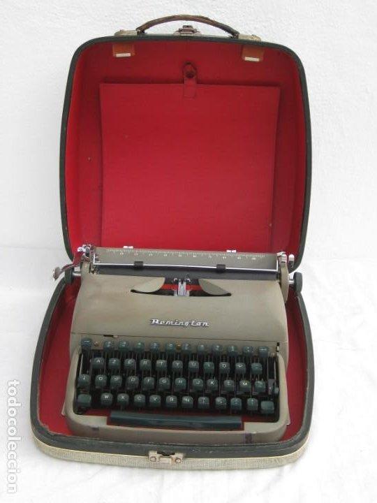 Antigüedades: Maquina escribir antigua. Remington. - Foto 10 - 198637005
