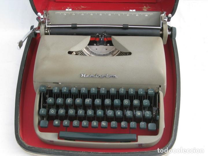 Antigüedades: Maquina escribir antigua. Remington. - Foto 12 - 198637005