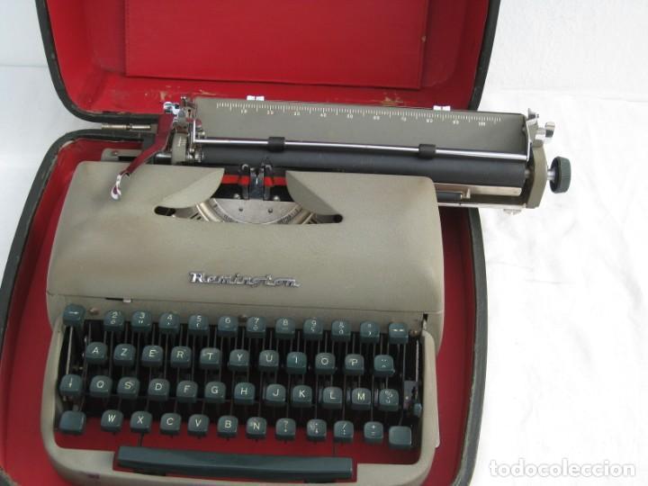 Antigüedades: Maquina escribir antigua. Remington. - Foto 13 - 198637005