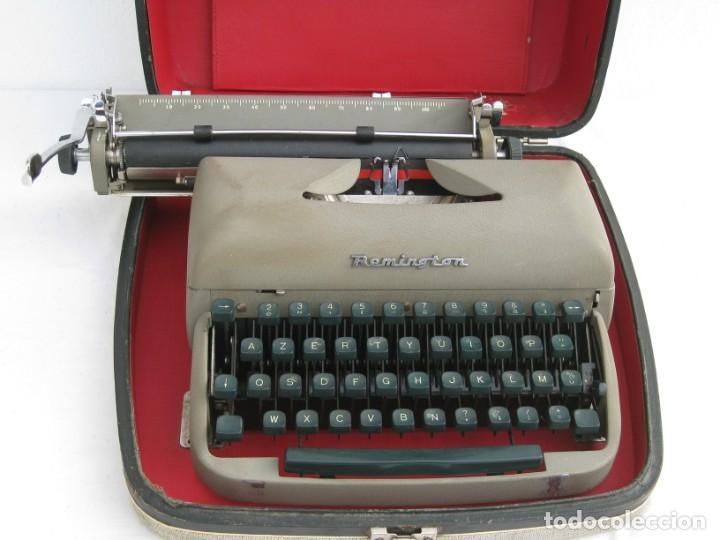 Antigüedades: Maquina escribir antigua. Remington. - Foto 14 - 198637005