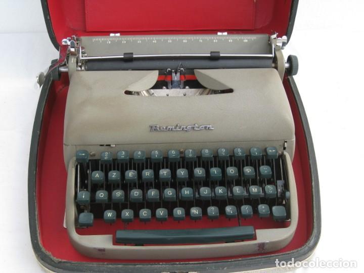 Antigüedades: Maquina escribir antigua. Remington. - Foto 15 - 198637005