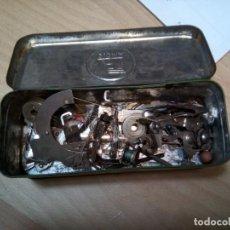 Antiquités: * CAJA CON UTENSILIOS MAQUINA SIGMA. (RF:GG/*). Lote 198684803