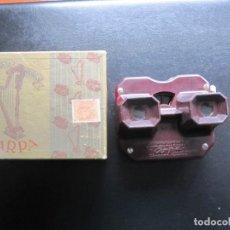 Antigüedades: ANTIGUO VISOR ESTEREOSCOPICO DE BAQUELITA. Lote 198712577