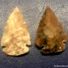 Antigüedades: FLECHAS DE PIEDRA. Lote 198731902