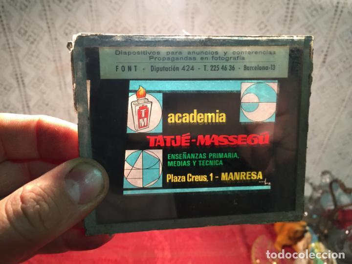 Antigüedades: Antiguos 3 cliché publicitarios colchones Flex, academia Tatjé- Massegú Manresa años 60 - Foto 2 - 198735553