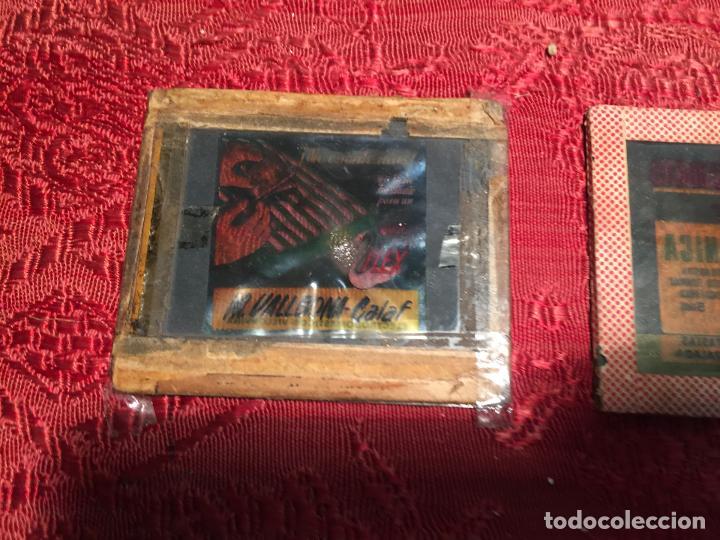 Antigüedades: Antiguos 3 cliché publicitarios colchones Flex, academia Tatjé- Massegú Manresa años 60 - Foto 4 - 198735553