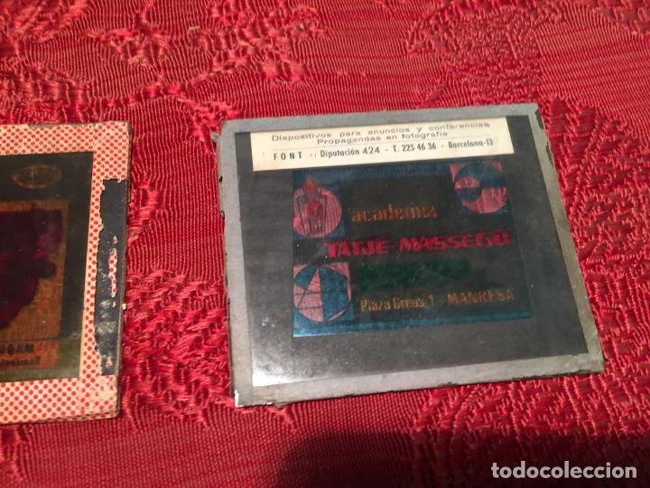 Antigüedades: Antiguos 3 cliché publicitarios colchones Flex, academia Tatjé- Massegú Manresa años 60 - Foto 6 - 198735553