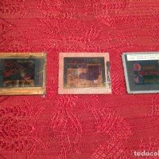 Antigüedades: ANTIGUOS 3 CLICHÉ PUBLICITARIOS COLCHONES FLEX, ACADEMIA TATJÉ- MASSEGÚ MANRESA AÑOS 60. Lote 198735553