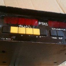 Antigüedades: TAXIMETRO TAXITRONIC. Lote 198739802