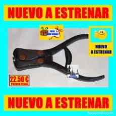 Antigüedades: ALICATES ESPECIALES DE CORTE FRONTAL EN ACERO PAVONADO - AÑOS CINCUENTA - FABRICACIÓN ESPAÑOLA. Lote 221516112