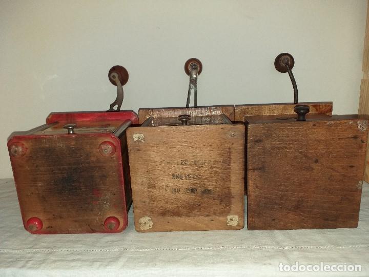 Antigüedades: 3 Molinos molinillos de cafe de la firma francesa E.G. Edmond Grulet. - Foto 11 - 198827386