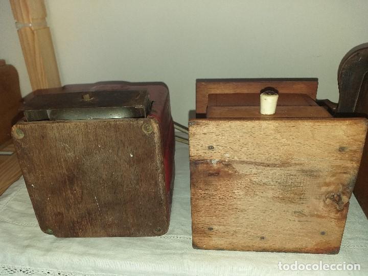 Antigüedades: 4 Molino Molinillo de cafe antiguos, (peugeot freres, peter dienes, .......) - Foto 16 - 198899676
