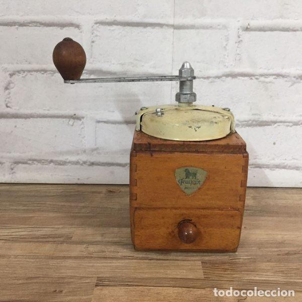 ANTIGUO MOLINILLO DE CAFÉ PEUGEOT FRERÉS FRANCIA 1940`S (Antigüedades - Técnicas - Molinillos de Café Antiguos)