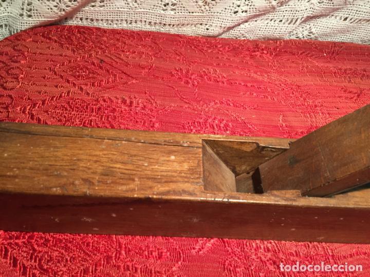 Antigüedades: Antiguas garlopa / garlopas / ribot / cepillo de carpintero de los años 40-50 - Foto 3 - 198946373