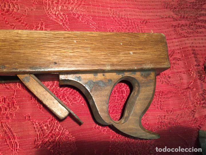 Antigüedades: Antiguas garlopa / garlopas / ribot / cepillo de carpintero de los años 40-50 - Foto 5 - 198946373