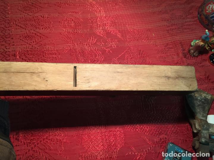 Antigüedades: Antiguas garlopa / garlopas / ribot / cepillo de carpintero de los años 40-50 - Foto 7 - 198946373