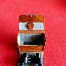 Antigüedades: PEQUEÑOS PRISMÁTICOS MARCA SCHUTZ A.G. CASSEL - MODELO BABY 3 X 15 - 1948. Lote 198969387