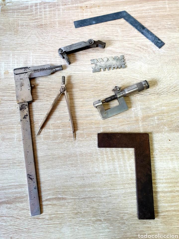 Antigüedades: Herramientas de tornero - Foto 2 - 198992142
