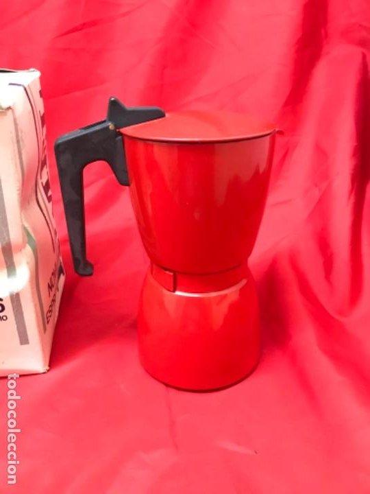 Antigüedades: Irmel cafetera nova express coffeepot rojo nueva vintag coffee maker italiana de coleccion nueva - Foto 29 - 199085375