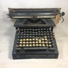 Antigüedades: MÁQUINA DE ESCRIBIR SMITH PREMIER Nº10 FABRICADA EN SYRACUSA, NEW YORK 1910 - LA OPALINA. Lote 199117556