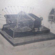 Oggetti Antichi: MANUAL DE INSTRUCCIONES DE LA MAQUINA DE ESCRIBIR MIGNON.. Lote 199156565