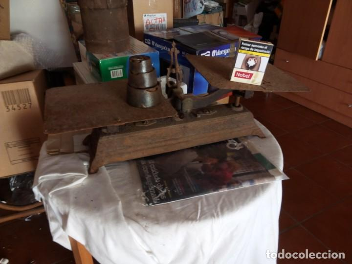 Antigüedades: balanza antigua - Foto 4 - 195742503
