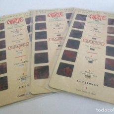 Antigüedades: LOTE DE 3 ESTEREOSCÓPICAS MARTE DE MALLORCA Nº1725 / 1729 / 1732. Lote 199281596