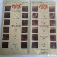 Antigüedades: LOTE DE 3 ESTEREOSCÓPICAS MARTE DE MALLORCA Nº 1734 / 1738. Lote 199281971
