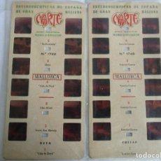 Antigüedades: LOTE DE 3 ESTEREOSCÓPICAS MARTE DE MALLORCA Nº 1742 / 1748. Lote 199282261