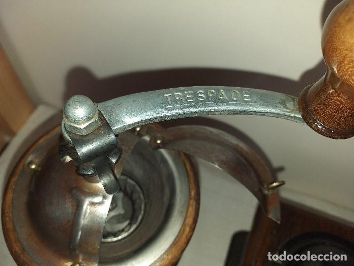 Antigüedades: 3 Molino Molinillo de cafe Italianos de la firma TRE SPADE y Marca B*T Depositata. - Foto 4 - 199370093