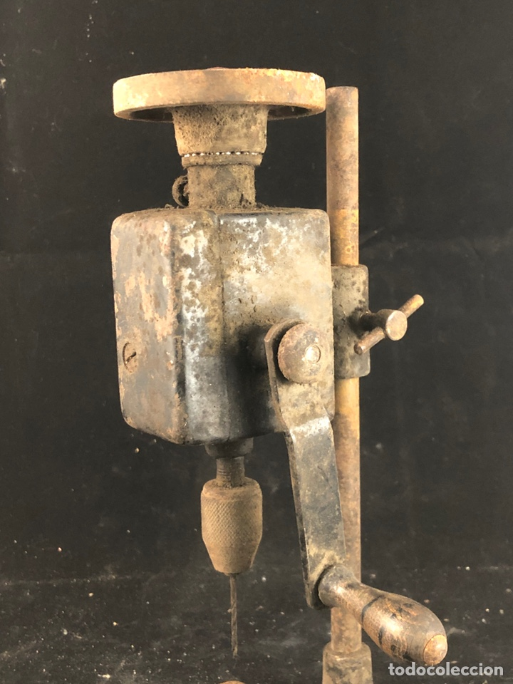Antigüedades: Antiguo taladro manual - Foto 3 - 199392531