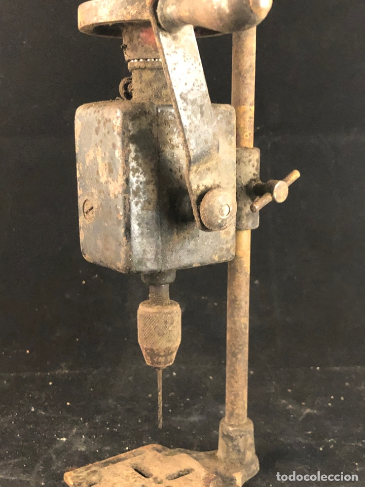 Antigüedades: Antiguo taladro manual - Foto 4 - 199392531