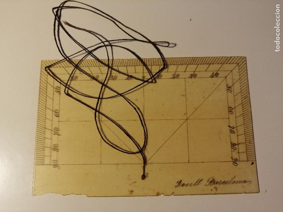 Antigüedades: Quadrante de Reducción y Transportador Nautico Rosell, Barcelona Ca. 1870-90 - Foto 7 - 199483116