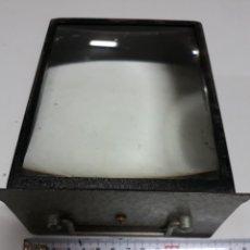 Antigüedades: ANTIGUO CAJÓN 2 LUPAS 15 X 11 CM AMPLIADORA. Lote 199496267