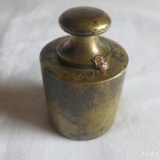 Antigüedades: PESA DE 200 GRAMOS J COBOS. Lote 199497725