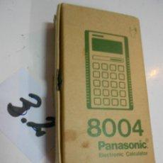 Antigüedades: ANITIGUA CALCULADORA PANASONIC 8004 NUEVA EN SU CAJA. Lote 199522563
